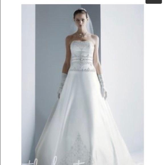 Oleg Cassini Other | Wedding Strapless Dress